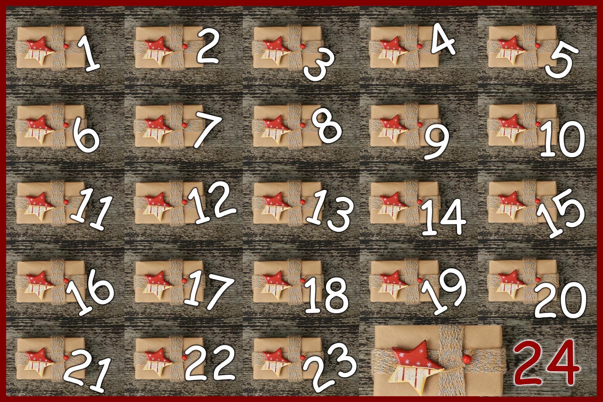 Originální adventní kalendář pro vaše blízké - Trendy Žena 55445652e8